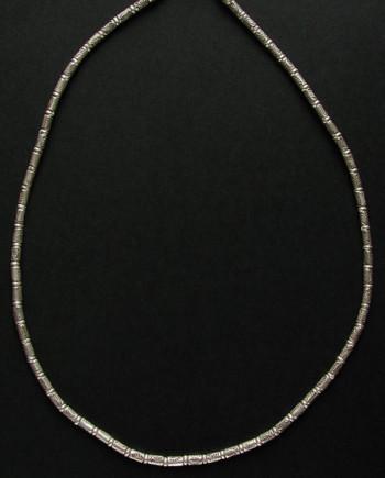 カレンシルバー シルバービーズ ネックレス シンプル 魚 a01-13